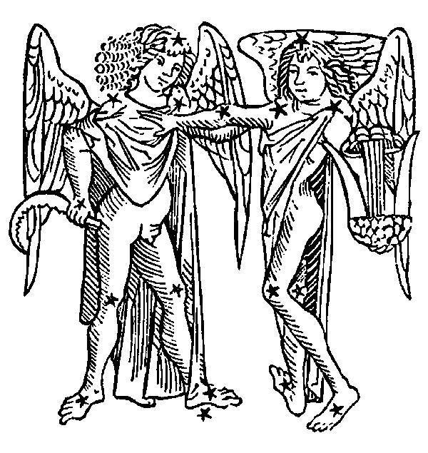 Tvillingarna Egenskaper Hos Tvillingarnas Stjärntecken I Horoskopet